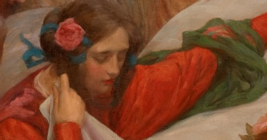 Rupert Bunny,Angels Descending,c.1897 (detail)