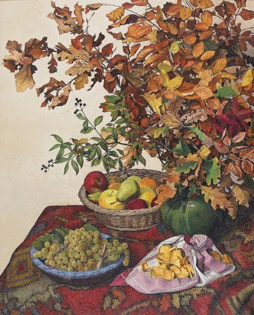 Pierre Jaques, Autumn Still Life...