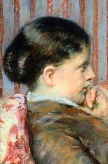 Mary Cassatt: Tea (1880)