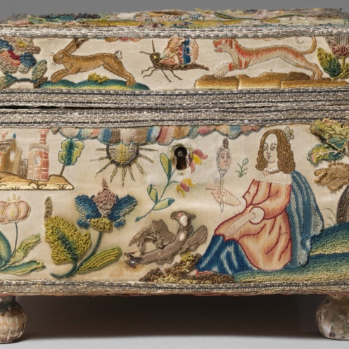 British Cabinet with personifications of the Five Senses, 17th century, Image Source: https://www.metmuseum.