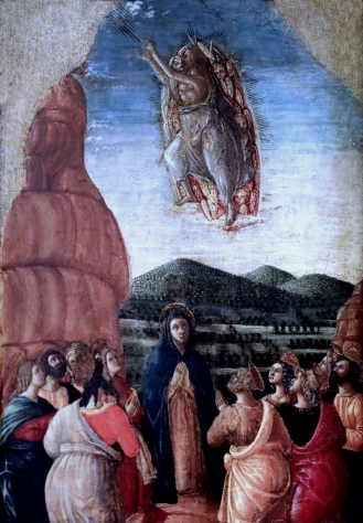 Jacopo da Montagna. 1440-1499. Padoua The Visitation, The Adoration, The Last Supper, The Agony in the Garden, The Resurrection, The Ascension. Prague National Gallery Sternberski Palac by jean louis mazieres Some rights reserved
