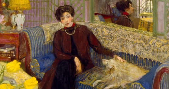 Marcelle Aron (Madame Tristan Bernard) - Edouard Vuillard