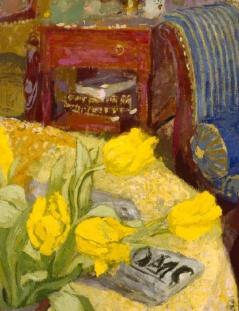 Marcelle Aron (Madame Tristan Bernard) - Edouard Vuillard (detail)