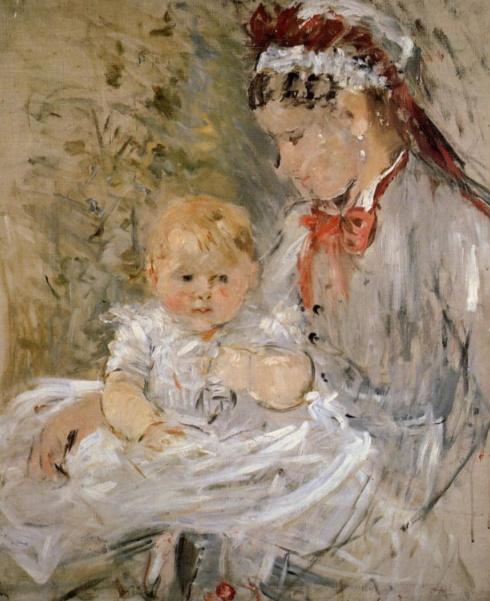 Berthe Morisot_Julie with Her Nurse (1880)