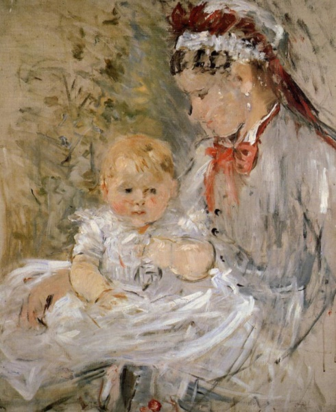 Berthe Morisot_Julie with Her Nurse (1880)