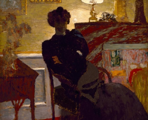Madame Hessel at Home by Édouard Vuillard c.1908, oil on board, w68.6 x h71.1 cm, Credit Line: The Museum of Fine Arts, Houston, gift of Audrey Jones Beck, The Museum of Fine Arts, Houston, image credit: Google Arts & Culture