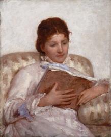 Mary Cassatt: The Reader (1877)