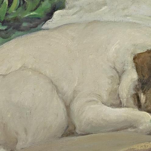 Endormies c1904 Rupert Bunny (detail)