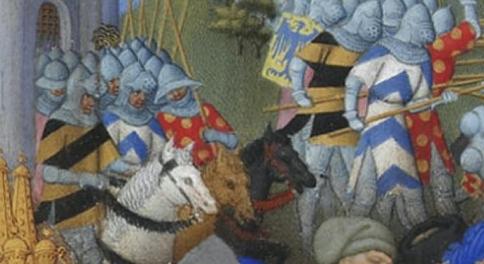 Illuminated Manuscipts Les Très Riches Heures du Duc de Berry (detail)