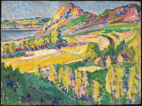 Emily Carr Autumn in France 1911 Via National Gallery of Canada