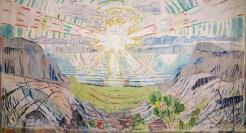 Version 2: Edvard Munch [Public domain] The Sun 1911, via Wikimedia Commons