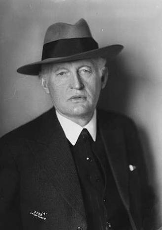 Edvard Munch in 1933, via wikipedia