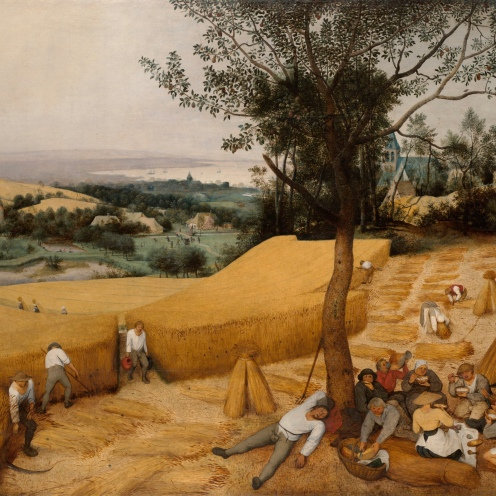 Pieter Bruegel the Elder - The Harvesters - 1565 On view at The Met Fifth Avenue in Gallery 642