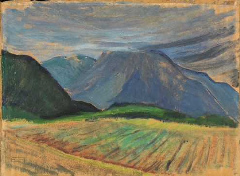 Emily Carr: Landscape (c.1935) Via National Gallery of Canada