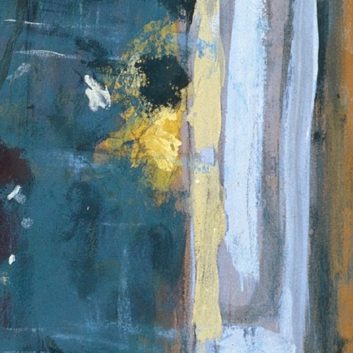 Édouard Vuillard, Flowers on a Mantelpiece at Les Clayes (1932-1935) via Google Arts & Culture, detail