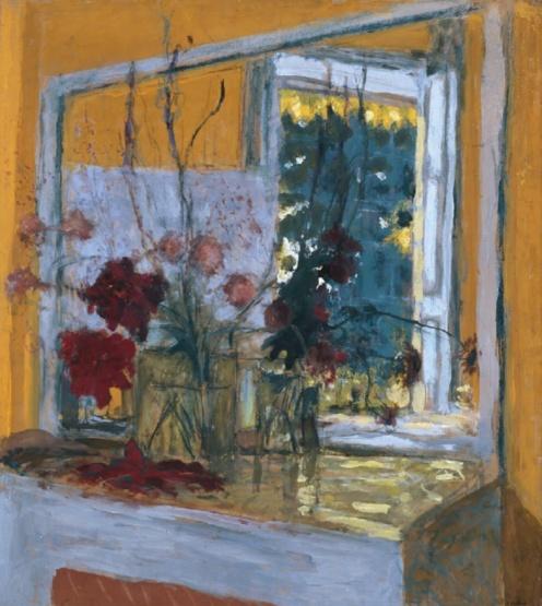 Édouard Vuillard, Flowers on a Mantelpiece at Les Clayes (1932-1935) via Google Arts & Culture