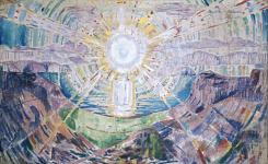 Version 4, Edvard Munch, The Sun, 1912-1913, found at Munch Museum