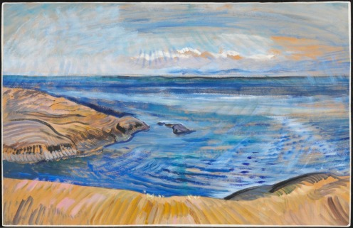 Emily Carr Seascape c. 1935 Via National Gallery of Canada