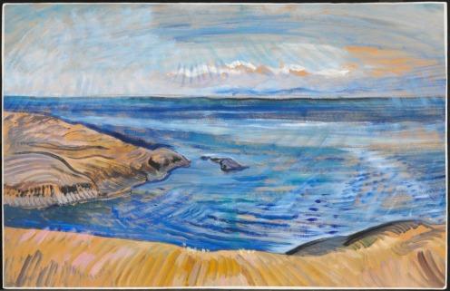 Emily Carr Seascape c. 1935 Via National Gallery of Canada