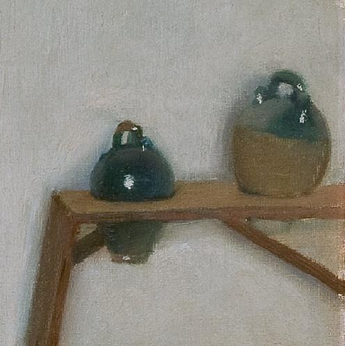 Santiago Rusiñol: Sitges Interior (c1894) detail
