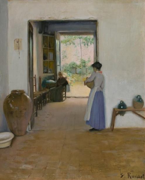 Santiago Rusiñol: Sitges Interior (c1894)