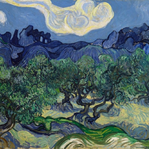 Vincent van Gogh, The Olive Trees, Saint Rémy,1889