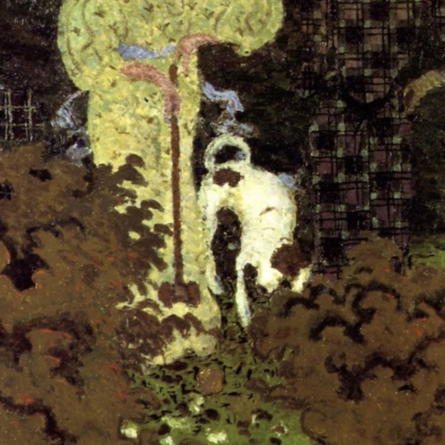 Pierre Bonnard (1867-1947), The Croquet Game (1892), oil on canvas, 130 x 162.5 cm, Musée d'Orsay, Paris). The Athenaeum.(detail)