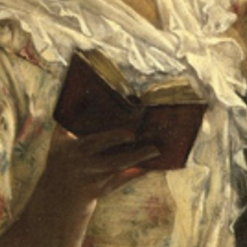 Francis David Millet, A Cosey Corner,1884, Metropolitan Museum of Art - New York (detail)
