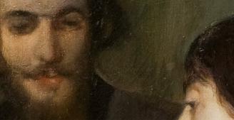 A Romance, Santiago Rusiñol 1894 (detail)