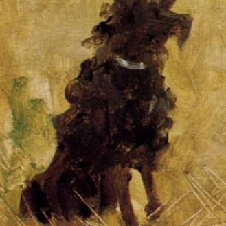 Henri de Toulouse-Lautrec, Party in the Country, 1882, source: Athenaeum (detail)