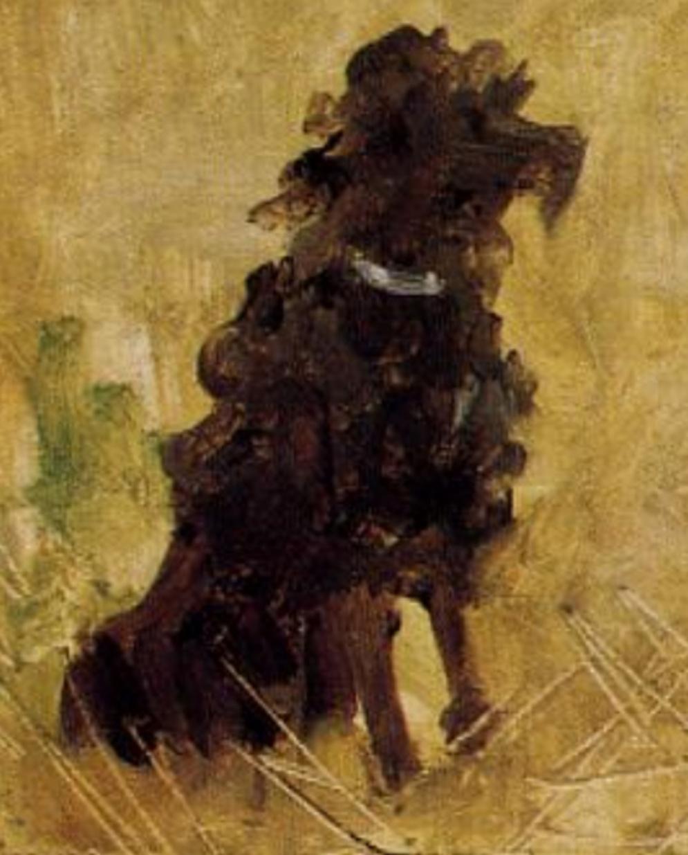 Henri de Toulouse-Lautrec, Party in the Country, 1882, source: Athenaeum (detail)