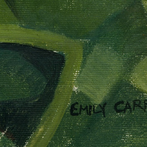 Emily Carr: Untitled forest scene (c1932), source Royal BC Museum, detail