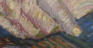 Vincent van Gogh, Portrait of Julien Tanguy, 1887, Musée Rodin, Paris (detail)