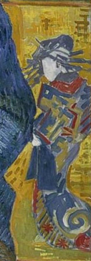 Vincent van Gogh, Portrait of Julien Tanguy, 1887, Musée Rodin, Paris, detail
