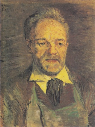 Portrait of Père Tanguy, winter 1886/87