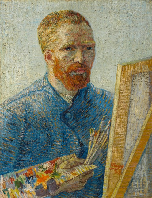 Self-Portrait as a Painter, December 1887 - February 1888, Oil on canvas, 65.1 cm × 50 cm Van Gogh Museum, Amsterdam