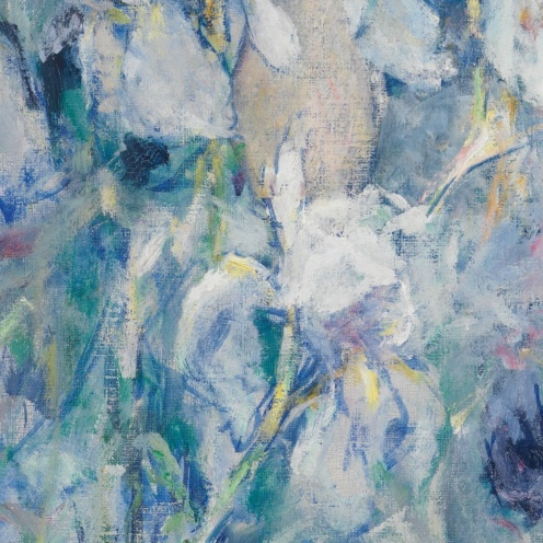 Fleur de Lis by Robert Reid, American Paintings and Sculpture Medium: Oil on canvas George A. Hearn Fund, 1907 Metropolitan Museum of Art, New York, NY http://www.metmuseum.org/art/collection/search/11858 (detail)