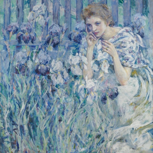 Fleur de Lis by Robert Reid, American Paintings and Sculpture Medium: Oil on canvas George A. Hearn Fund, 1907 Metropolitan Museum of Art, New York, NY http://www.metmuseum.org/art/collection/search/11858