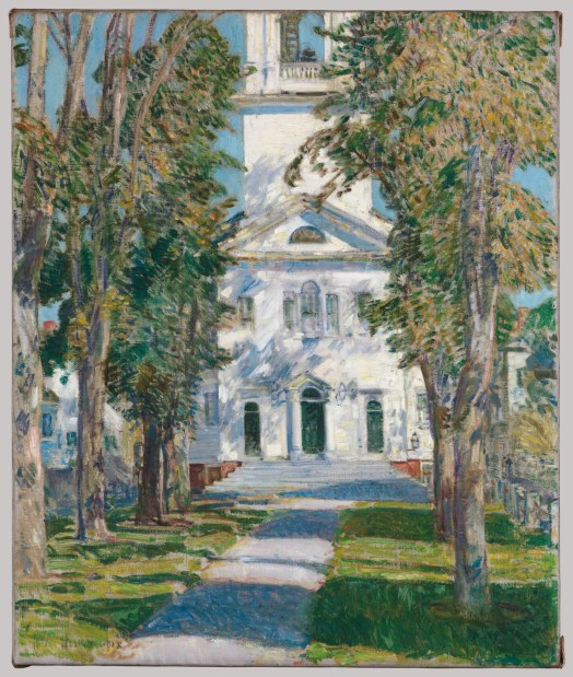 Childe Hassam,The Church at Gloucester (1918)Metropolitan Museum of Art