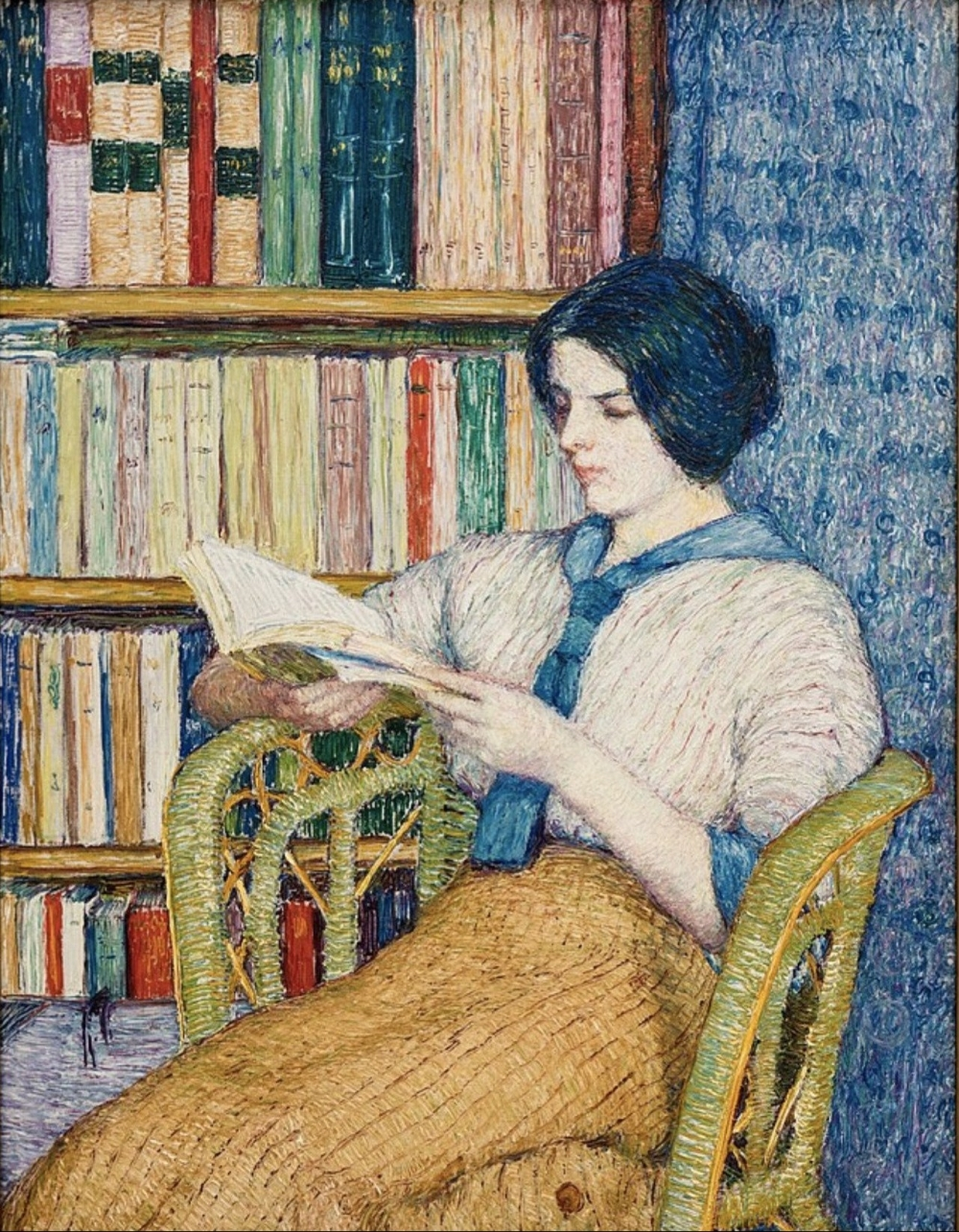 20Torajiro Kojima - Woman Reading jpg - Wikimedia Commons