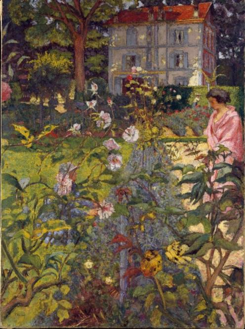 Édouard Vuillard, Garden at Vaucresson, 1923,The Metropolitan Museum of Art