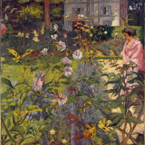 Édouard Vuillard, Garden at Vaucresson, 1923,The Metropolitan Museum of Art