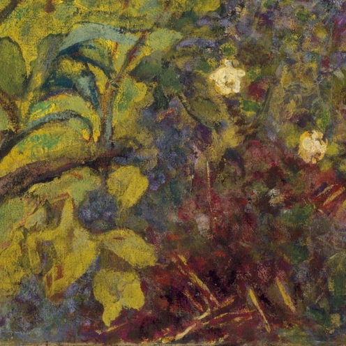 Édouard Vuillard, Garden at Vaucresson, 1923,The Metropolitan Museum of Art (detail)
