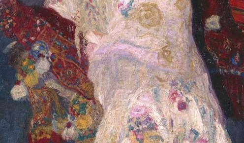 La novia de Benimamet, Hermen Anglada Camarasa, 1906, National Museum Center of Arts, Reina Sofia, Source: http://www.museoreinasofia.es/coleccion/obra/novia-benimamet , (detail)