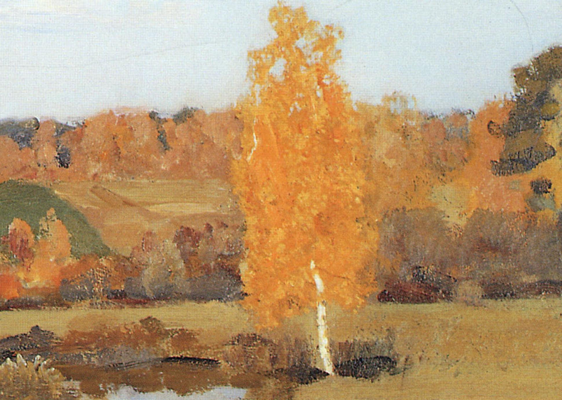 64cdebd6c38 Isaac Levitan  Golden Autumn (1895) – At Sunnyside – Where Truth and ...