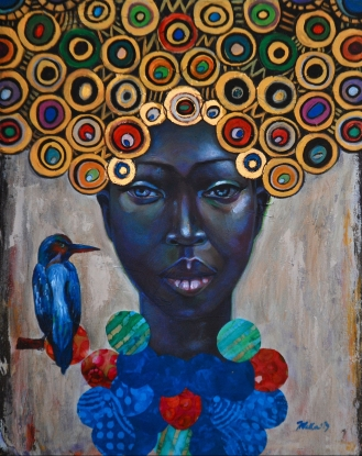 Tamara Natalie Madden, Cycles, source: Atlanta Tribune http://www.atlantatribune.com/2017/11/14/remembering-spelmans-tamara-natalie-madden-artist-and-professor/