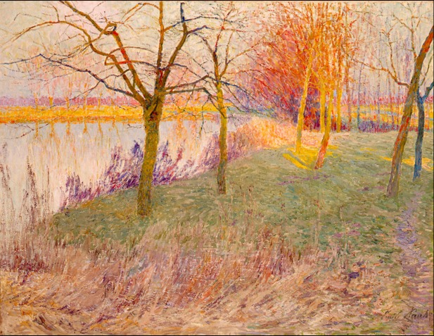 emile Claus_Winter Orchard OHARA MUSEUM of ART