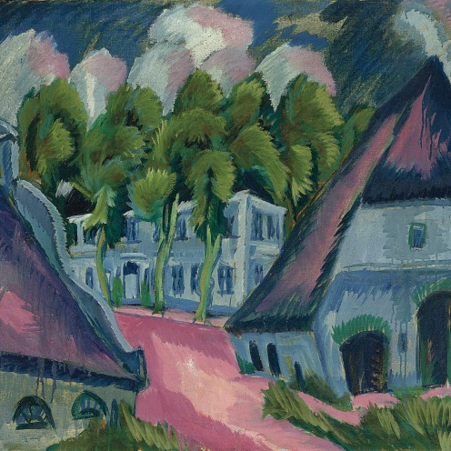 Ernst Ludwig Kirchner (1880-1938), Gut Staberhof III (1913), oil on canvas, 32 1/8 x 35 5/8 in. (81.6 x 90.5 cm.), Source: Christie's