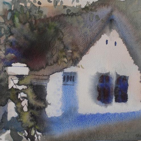 Endre Penovác, A/037-2012, akvarell, 28x38cm, Source: http://penovacendre.com/node/35?titles=off