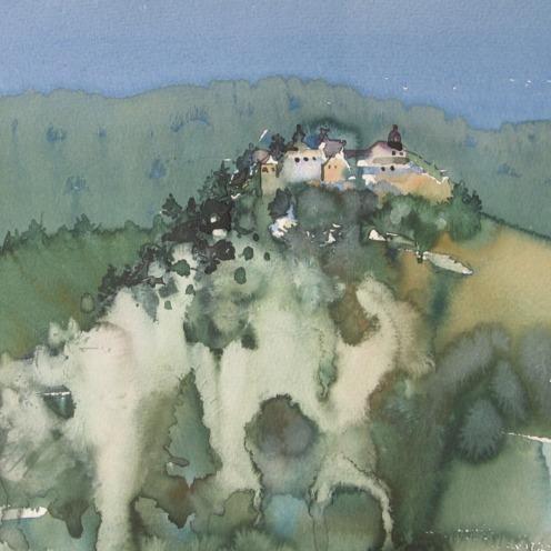 Endre Penovác, A/012 – 2006, akvarell, 29x37 cm, Source: http://penovacendre.com/node/35?page=2&titles=off